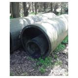 Heavy duty plastic pipes 10