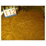 Gold Tapestry, Linens Satin & Silk