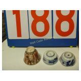 Fruit Bowl and Saki Set  - Mixed Box Lot