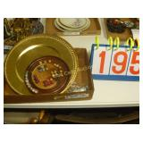 Collection - Gold and Plastic Plates -  Mixed Box