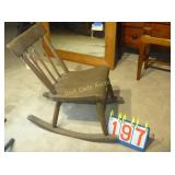 Country Windsor Rocking Chair