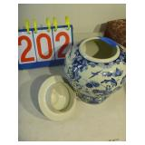 Blue Delft - Vase with Top - Dutch Blue - Holland