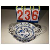 "Blue Onion - Platter 13""x9"""