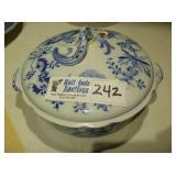"Blue Onion - Stew Bowl - 7 3/4"""