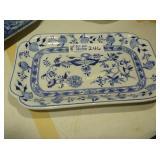 "Blue Onion - Serving Platter - 15""x9.5"""