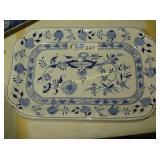 "Blue Onion - Serving Platter - 19""x12"""