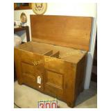 "Blanket Chest 2 Drawers - 46""Wx20""D - 30.5""Tall 2"