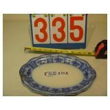Flow Blue - Small Serving Platter