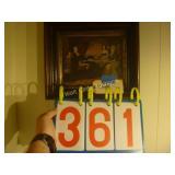 """Presidential Framed Art Wood Framed 14""""x12"""""""
