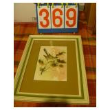 Wooden Frames & Paintings - 7 Total - Wallace