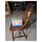 Windsor Antique Spindle Back Chair