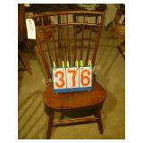 Windsor Antique 2 Tier Spindle Back Chair