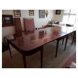 1800-1820 Table Grand Federal/Hepplewhite