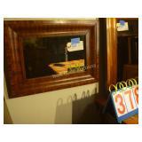 """Mirror Wood Framed 18""""x24"""""""