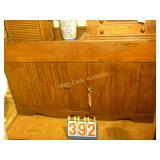 "Food Tray Antique Buffet - 56""x21""x32"" Has"