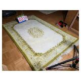 "India Rug - Handwoven Wool - Ivory Gold - 48""x"