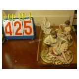Porcelain Figurines with Cherubs and Bonus -