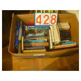 Box of Misc Books as Shown