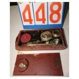 1930 Portable Swiss Windup Gramophone Record