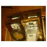 Picture Frames, Small Trinket Box, Metal Tin -
