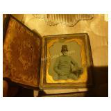 Antique Pocket Photo Tins (5) - Civil War Era