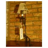 "Table Lamp with Shade - Metal 22"" Tall"