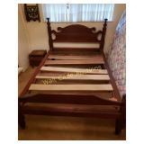 4 Post Antique Bed - Queen Size - Extended Bed