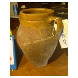 Turkish Urn - Antique Dual Handle with Yellow