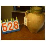 "Grain Pot - Large Antique Dual Handle - 15"" Tall"