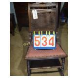 "Antique Rocking Chair - 16""x29""x33"""