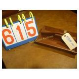 """Cherry Cutlery Caddy - Antique - 12""""x8"""""""