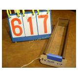 "Sliding Top - Antique Box - 4""x14"""