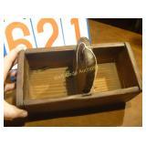 1860 American Salt Box - Antique - Dovetail -