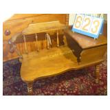 "Phone Table & Seat Combo - Vintage - ""Excellent"