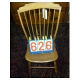 Chair - Spindleback - Antique