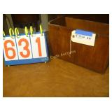"Magazine Box - Antique - 14""x7""x8"""
