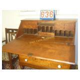1800 Secretary Desk - English Tiger Maple -