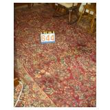 "English Rug Amni Floral Red  - 103""x146"""