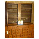 Apathacary Cabinet 32 Drawer Antique with Dual