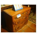 "Night Stand Antique - with 3 Drawers ""Beautiful"""
