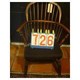 Windsor Round Back - Antique Spindleback Chair