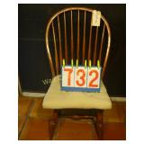 Windsor Antique 6 Spindleback Chair by Scott and