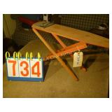 "Ironing Board Antique - 24""x6""x13"""