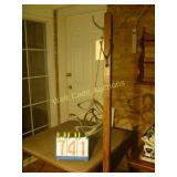 Coat Rack with a Wind Chime