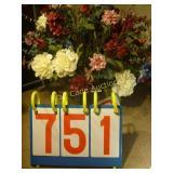 Artificial Floral Arrangement in Bowl