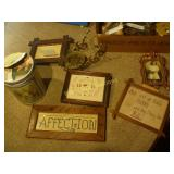 Wood Framed and Abacusses Mixed Box Lot