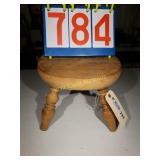 "4 Legged Wooden Step Stool - 18""x12""x8"""