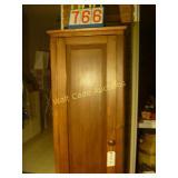 "Flue Chimney Antique Cabinet - 22""x13""x68"""