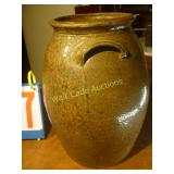 "Water Vase Antique - Marked J.R. - 15"" Tall"