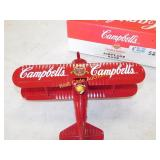Campbell Limited Edition Airplane Coin Bank